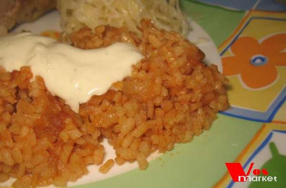 Рис приготовленный по турецки