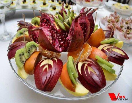 Нарезка из фруктов