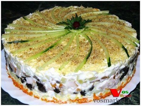 Вкусные слоеные салаты к праздничному столу рецепты с