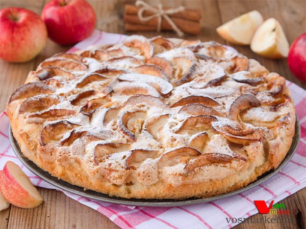 Вкуснейшая шарлотка с яблоками рецепт с пошагово