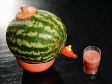 Готовый алкогольный арбуз