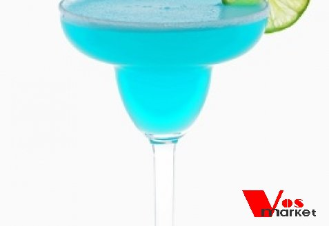 Голубая Маргарита коктейль