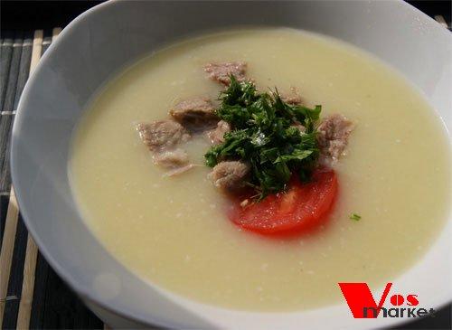 Готовый суп из кабачков