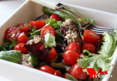 салат с фрикадельками рецепт с фото