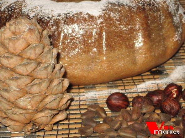Домашний ореховый хлеб