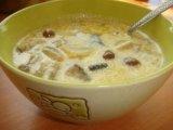 Фото готового блюда: Суп из баклажанов с грибами