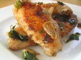Фото готового блюда: Куриные крылья с чесноком