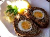 Фото готового блюда: Говяжий рулет с яйцом