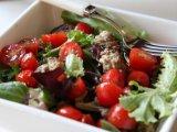 Главное фото рецепта Салат с фрикадельками