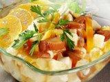 Главное фото рецепта Грибной салат с апельсином