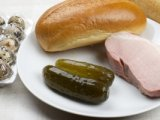 Продукты для приготовления бутерброда