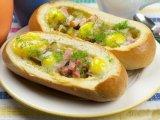 Главное фото рецепта Горячие бутерброды с яйцом