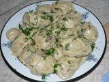 Фото готового блюда: Манты с картошкой и мясом