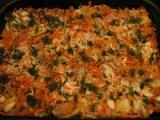 Готовое блюдо из картошки с горбушей