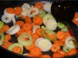 Порей и морковь