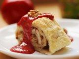Фото готового блюда: Яблочный штрудель