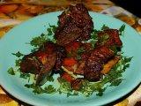 Фото готового блюда: Говяжьи ребра в духовке