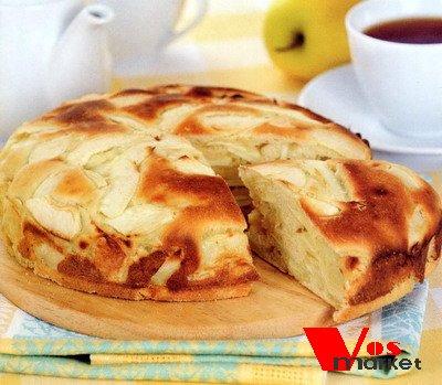 Белорусский пирог с яблоками
