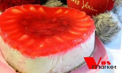 Сметано-бисквитный торт