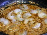 Приготовление креветок в соусе