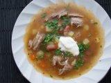 Главное фото рецепта Фасолевый суп со свининой