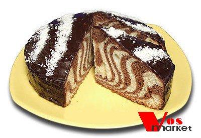 Торт Зебра домашний