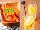 Готовый морковь и лимонад