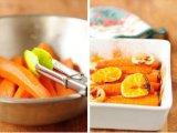 Морковь в форме