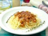 Фото готового блюда: Спагетти с креветками