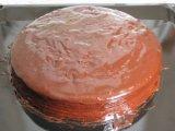 Глазурь на поверхности торта