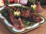 Фото готового блюда: Судак запеченный