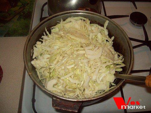 Рецепт пигоди с капустой с фото
