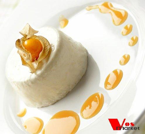 Панакотта - сливочный десерт