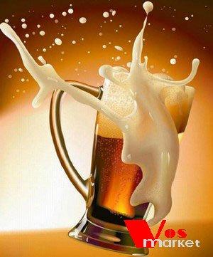 Бокал с пивой