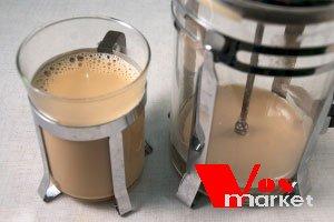 Готовый чай масала в стакане
