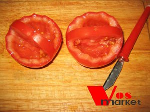 Корзинки из помидоров
