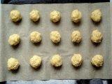 Овсяные печенье в противне