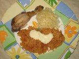 Готовый гарнир рис по турецки