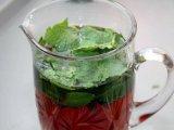 Мята в чае