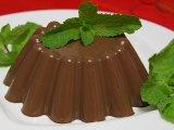 Фото готового блюда: Шоколадное желе