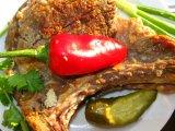 Фото готового блюда: Антрекот из говядины