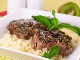 Главное фото рецепта Мясо маринованная в киви