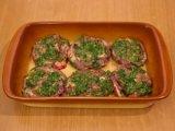 Мясо в форме для запекания