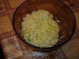 Нашинкованная китайская капуста