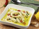 Фото готового блюда: Маринованные кальмары