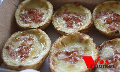 Запеченный картофель в духовке под сыром