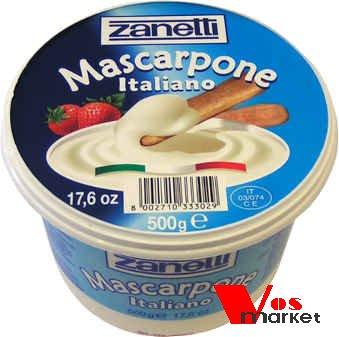 Сыр Маскарпоне в заводской упаковке