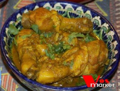 Индийское курица карри