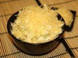 Фото готового блюда: Салат с яблоками и сыром