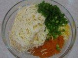 Приготовленные ингредиенты буторброда